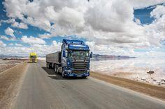 NOTICIAS   Transporte Carga de Argentina y Chile    CRUCE DE LOS ANDES: Máximo rendimiento a bordo de un Scania V8