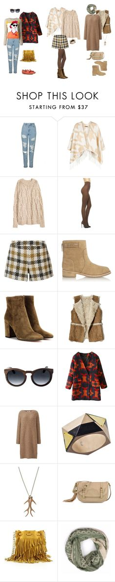 """""""HW Natural Style"""" by tanya-liljenfeldt on Polyvore featuring Topshop, Maje, Alice + Olivia, Tory Burch, Gianvito Rossi, Hollister Co., Earth, Uniqlo, Isabelle Zumbrunn and Any Old Iron"""