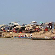 La rive du Tonle Sap 2 - Siem Reap - Cambodge