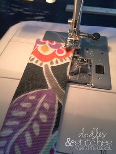 An easy tutorial on how to make your own Yoga Mat Strap!