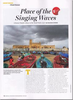 #Tranquebar Photo featured in National Geographic Traveller India