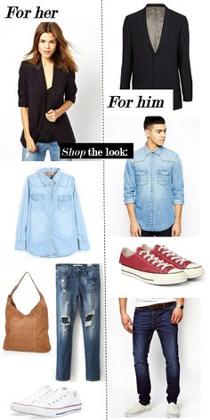 STREET STYLE SECONDS - Fashion and what to wear... for couples :)