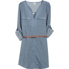 Joie Rathana Dress ($218) ❤ liked on Polyvore