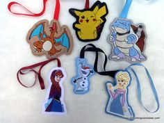keychain tutorial for machine embroidery