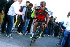 "Cadell Evans climb the ""Muro di Guardia gray level"" (Australia, BMC Racing)"