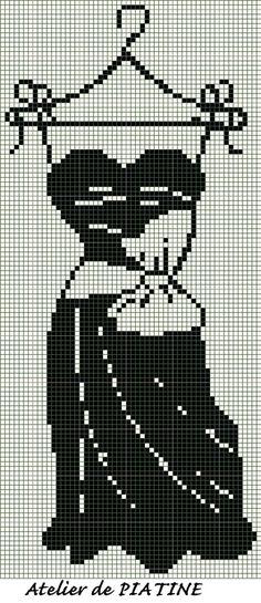 grille petite robe noire