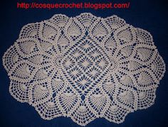 Wow doily with diagram