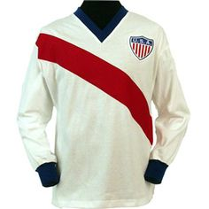 Would love this for the 2014 World Cup. USA 1950 World Cup Retro Football Shirt-Toffs