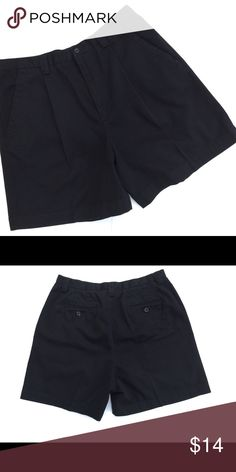 🍁Jones New York Sport Shorts 1 Pair Left Jones New York Sport Black 100% Cotton Shorts. These are a heavy thicker material. Excellent Condition. Jones New York Shorts