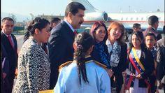 El mandatario venezolano anunció que presentará las propuestas de Venezuela para combatir la desigualdad en la región.    Foto: CELAC