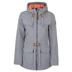 LAMBADA dámský softshellový kabát Raincoat, Athletic, Zip, Jackets, Fashion, Rain Jacket, Down Jackets, Moda, Athlete