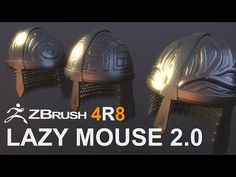 Zbrush 4r8 - Hair with the bend curve 3d gizmo - YouTube