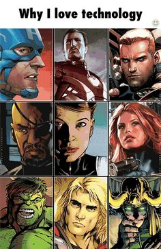 Similarities between Marvel comic book characters and the MCU characters.
