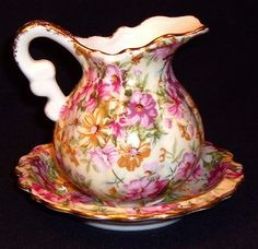 Google Image Result for http://i.ebayimg.com/t/ROYAL-CHINTZ-Pitcher-Basin-Set-Pinks-Flowers-Rare-Jug-Bowl-Creamer-Lot-MINT-/00/s/Njc0WDY5NQ%3D%3D/%24(KGrHqJHJC4E7zDosBgVBO%2BW2BSgV!~~60_35.JPG
