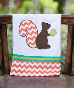 Squirrel Tea Towel #zulily #zulilyfinds