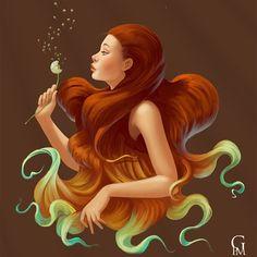 Fantasy Digital world by Gloria Piñeiro Muñiz. |funpalstudio|  art artwork beautiful creativity illustration entertainment digital art
