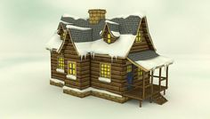 Low Poly Winter House has just been added to GameDev Market! Check it out: http://ift.tt/1L0lFff #gamedev #indiedev