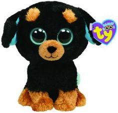 Ty Beanie Boos Plush - Tuffy dog