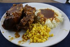 Slow Cooker Country-Style Pork Ribs Recipe | Free Delicious Italian Recipes | Simple Easy Recipes Online | Dessert Recipes