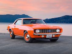 1969 COPO Camaro ZL1.  Pure, unadulterated performance!