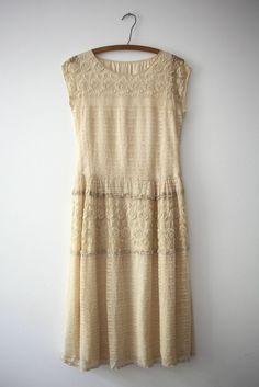 Lawrenc: Lace Flapper Wedding Dress