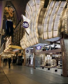 ABC Store in the center of the Fremont Experience in Las Vegas