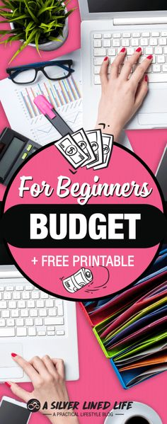 FREE amazing budget printable & worksheet! This is an awesome guide to budgeting for beginners. The best basic tips for money management are all answered in this post!