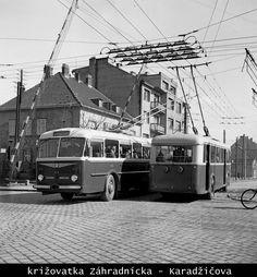 Bratislava Slovakia, Public Transport, Old Photos, Transportation, Times, Nostalgia, Pictures, History, Antique Photos