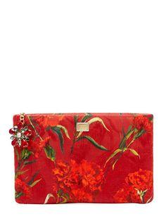 (Dolce & Gabbana | Floral Clutch)