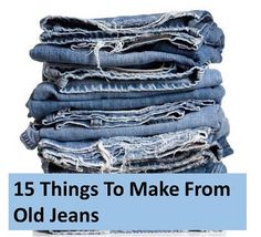 phoenix treasures - 15 Things To Make From Old Jeans