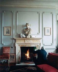 Manolo Blahnik's beautiful Georgian house in Bath, England: