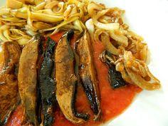 Raw on $10 a Day (or Less!): Portobello Marinara with Pasta ~ Raw Vegan Recipe