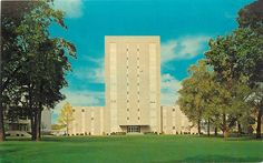 Bowling Green Ohio~Admin Bldg at Bowling Green State University 1963