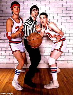 I won't watch basketball until they bring back the short shorts. I WILL listen to the Beastie Boys though.