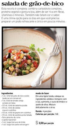salada grao de bico