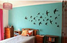 Absolutely love the black birds they go with almost any room!