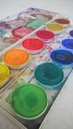 Royce's palette-subject of next painting