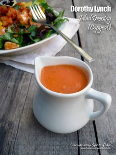 A yummy Nebraska home-grown recipe for a French Dressing that's kind of a mid west US obsession ... my copycat recipe has less sugar, less fat, but it's still super delicious and super easy to mak...