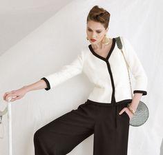 Wymyśliła go Coco Chanel - Artykuły - Artykuły - Burda.pl - szycie i wykroje!