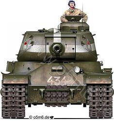 WW2 Russian IS-2 Heavy Tank, Battle of Berlin