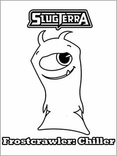 Slugterra Printable Coloring Pages 3 Online Coloring Pages, Printable Coloring Pages, Coloring Pages For Kids, Coloring Books, Doodle Cartoon, Color Games, Free Printable Worksheets, Doodles, Slug