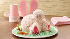 So kann man professionell eine Osterhasen Torte backen - bunny butt cake