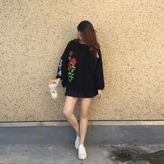 Fashion Sweatshirt Women Embroidery Floral Hoodies Long Sleeve Elegant Warm Plus Velvet Winter Pullover Vintage Casual Tops