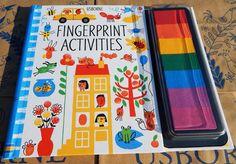 Călători printre cărți: Usborne Fingerprint Activities