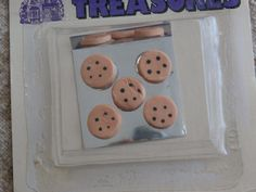 Miniature Cookie Sheet Cookies Hobby Lobby Doll House Minis - Tiny Chocolate Chip Cookies on  a Cookie Sheet