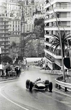 WOW! This vintage Monaco Grand Prix pic is a sensational comparison to todays cars and race! Hit the image to see the contrast! #F1 #monaco #spon #carart