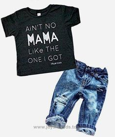 Newborn Baby Boy Clothes T-shirt Top Tee +Denim Pants Outfits Set 18-24 Months) BUY NOW $14.99 Fashion design,100% Brand New,high quality! Material:Cotton Blend Soft hand feeling material for comfortable to wear Package i .. http://www.joysforkids.top/2017/03/01/newborn-baby-boy-clothes-t-shirt-top-tee-denim-pants-outfits-set-18-24-months/
