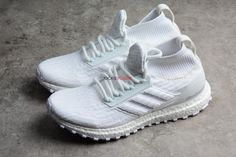 8e2bef0017fe0 ADIDAS ULTRA BOOST ATR MID PRIMEKNIT TRIPLE WHITE BY8926 Running Shoes