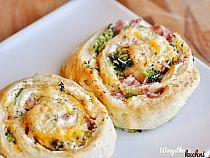 Ham and Broccoli Cheese Stuffed Spiral Rolls Tasty Kitchen: A Happy Recipe Community! Great Recipes, Favorite Recipes, Yummy Recipes, Little Lunch, Tasty Kitchen, Breakfast Snacks, Broccoli And Cheese, Appetizer Recipes, Appetizers