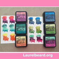 Distress Ink Custom Blend DIY Ink Pads VIDEO
